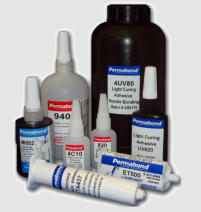 UV Curing Adhesives, Epoxies, Coatings, Sealants and Encapsulants for UV Curing