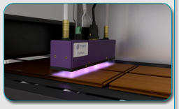 UV LED Curing for Wood Coatings